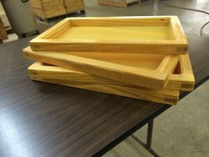 """SILK SCREEN FRAME for SCREEN PRINTING (12x18"""") high quality mesh White or Yellow"""