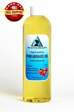 POMEGRANATE SEED OIL REFINED ORGANIC COLD PRESSED NATURAL FRESH 100% PURE 12 OZ