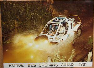 129 . 1 X Photo . Ronde Des Chemins Creux . 1981 . Format : 18 X 24 Cm .