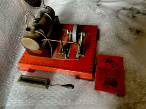 Mamod Twin Cylinder Superheated Steam Engine Metal Model SE3 Vintage Static