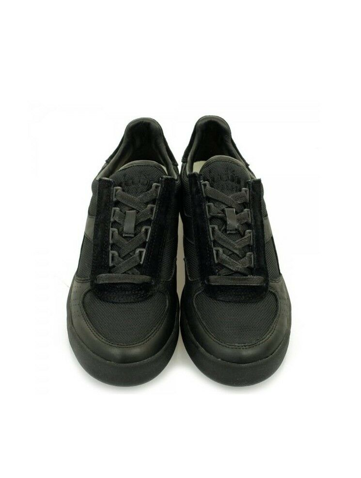 Diadora Basket s leather chaussures  casual B.ELITE L.III pelle Hommes  leather s Shoes Noir  6937a1