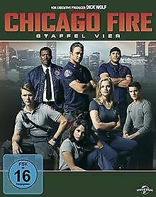 Chicago-Fire-Staffel-vier-6-DVDs-DVD-Zustand-gut