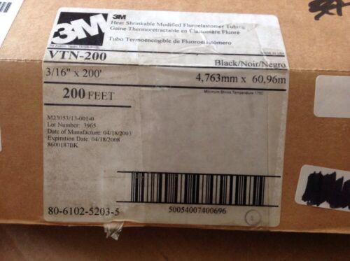 3M Heat Shrinkable Modified Fluroelastomer Tubing VTN-200