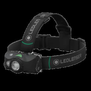 LED Lenser MH8 Headtorch Black NEW Fishing Rechargeable Headtorch 600 Lumen