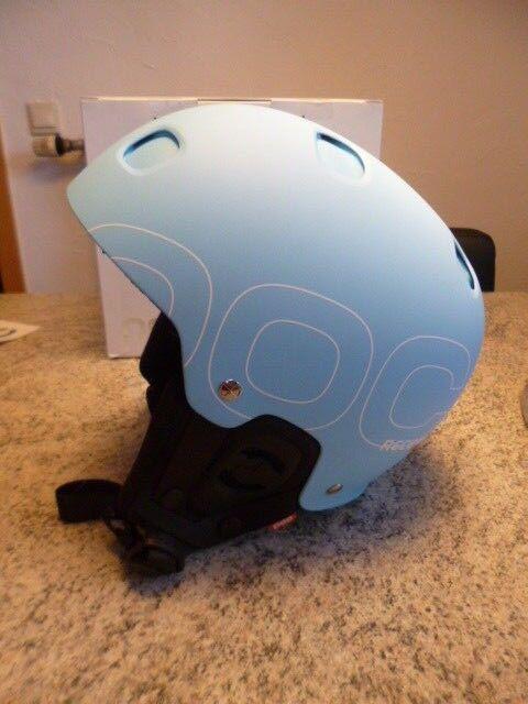 Ski Helm POC Receptor Plus, Light Blau. S 53 53 53 54 cm  | Die erste Reihe von umfassenden Spezifikationen für Kunden  690da3