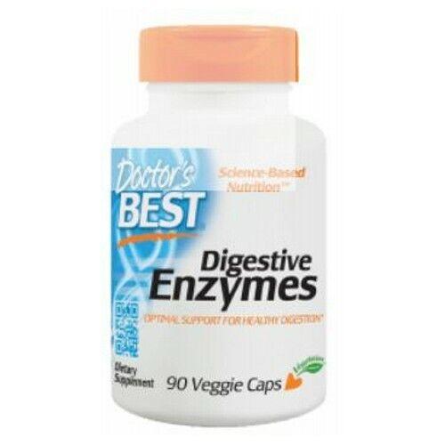 Digestive Enzymes 90 Veg Caps by Doctors Best