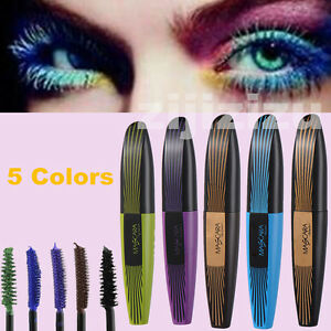 Extension Curling Color Mascara Sale Long 5 Hot Waterproof Eyelash FKuTcl1J35