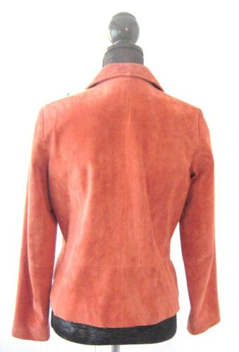 blazer Giacca in taglia giacca pelle scamosciata Ltd color Pursuit Piccola S foderata rame 5qEvzx6
