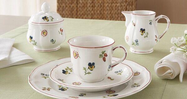 Villeroy & Boch - Servizio Caffè Petite Fleur 14 Pz Pz Pz Per 12 Persone - RIVENDITORE 3e24f2
