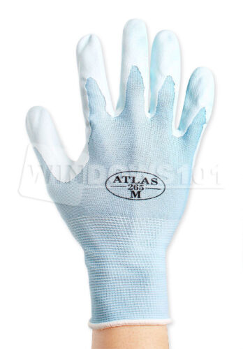 FREE SHIPPING! 1 Pair of Atlas Showa 265 Assembly Grip Lite Nitrile Work Gloves