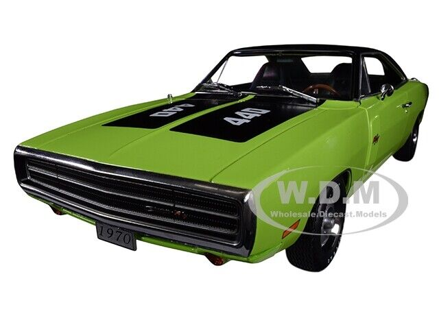 1970 DODGE CHARGER R T SE 440 440 440 GREEN 1 18 DIECAST MODEL CAR BY GREENLIGHT 13529 5c8cab