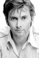 David Tennant Bw Portrait Poster 24x36