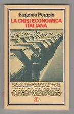 La crisi economica italiana - E. Peggio