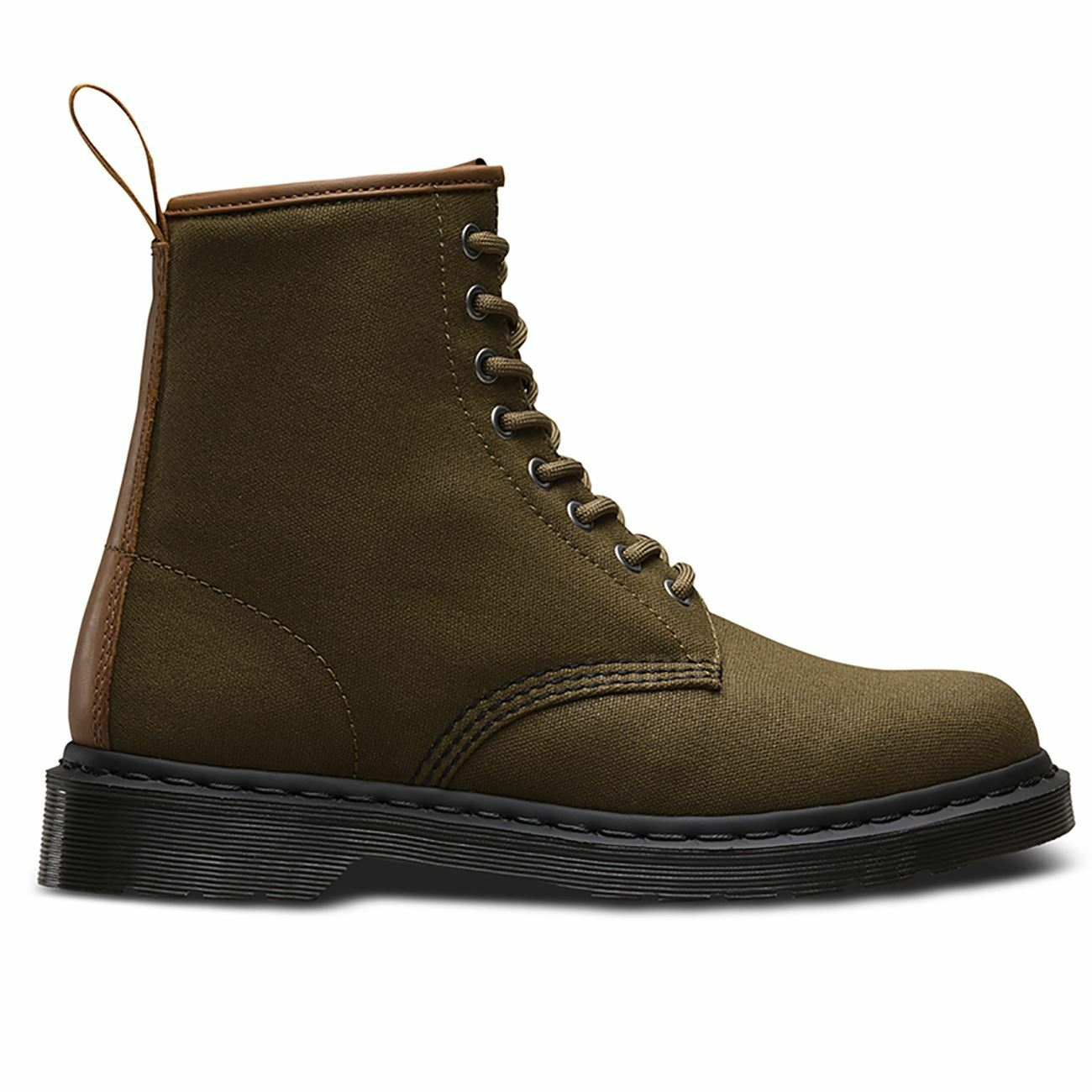 Dr.Martens Waxy New Laredo Grenade Green Mens Boots