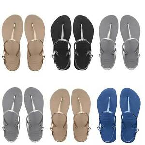 82f070797 Image is loading Havaianas-Freedom-Womens-Rubber-Flip-Flops-Summer-Sandals-
