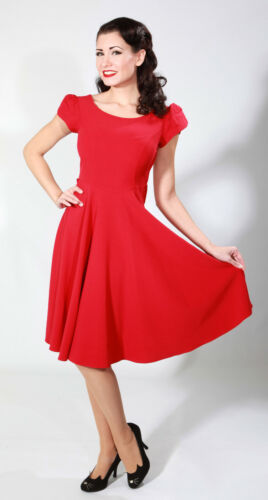 Red Aspen Swing Dress Rockabilly Pinup /& Swing 1940/'s,1950/'s Stop Staring!