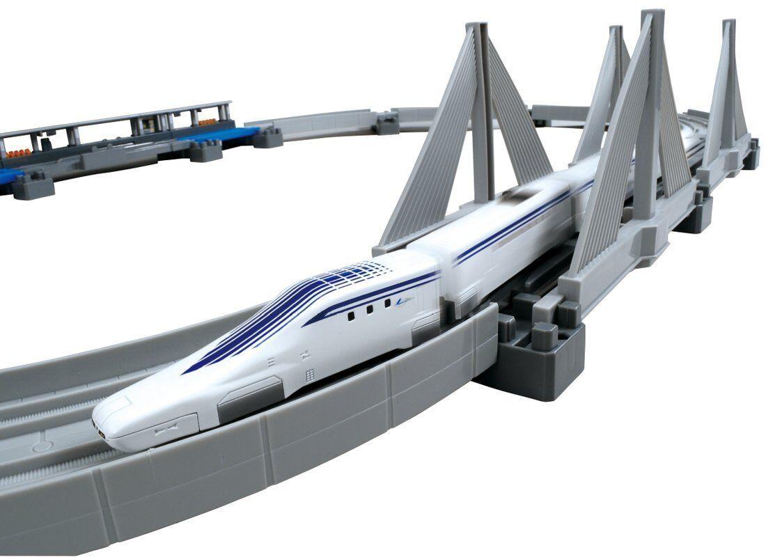 NEW Plarail Plarail Plarail Advanced Superconducting Maglev L0 System Elevated Rail Set Japan d7e8d9