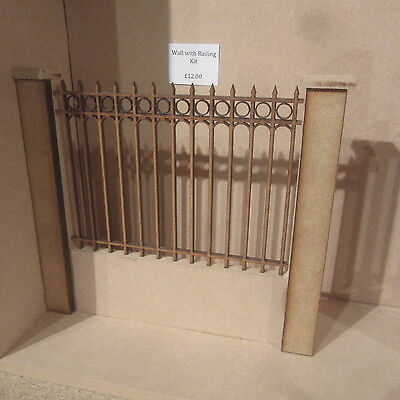 Dolls House DIY   Railing in Wall     DHD311