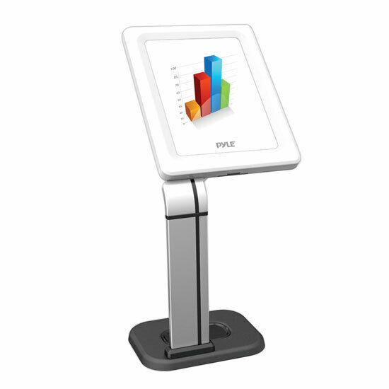 Pyle Anti-Theft Universal iPad/Tablet Kiosk Public Display Stand Table Mount