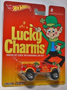 Hot-Wheels-LUCKY-CHARMS-FORD-F-150-GENERAL-MILLS-REAL-RIDERS-POP-CULTURE-1-64