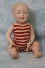 "Antique 6.5"" All Bisque German Baby Doll by Limbach Porzellanfabrik 8903 NICE!!"