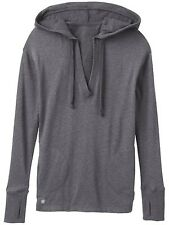 Athleta No Rush Hoodie - Charcoal heather women's sweater size LARGE  Pre-Owned