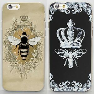 premium selection 439ae 2157e Details about Queen Bee luxury crown style rigid case cover for iPhone 6 7  8 Samsung S8 S7 J7