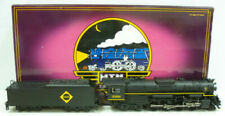 MTH O Scale Erie 2-8-4 Berkshire Steam Engine and Tender P2 20-3065-1