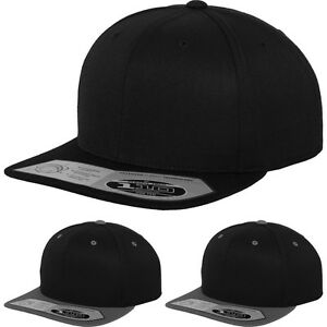 42665e722e2cf Image is loading Mens-Flexfit-Yupoong-110-Fitted-Snapback-Baseball-Cap-