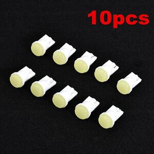 10x-Super-brillante-LED-blanco-1-COB-SMD-T10-W5W-Coche-Cuna-lateral-lampara-Bombilla-12V
