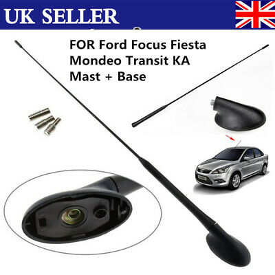 AM//FM Roof Antenna Aerial+Base For Ford Focus 2000 01 02 03 2004 2005 2006 US