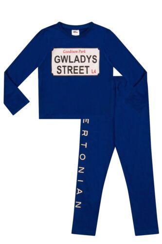 Cool Evertonian  Gwladys Street  Pyjamas  Baby sizes to 13 Years Blue FC