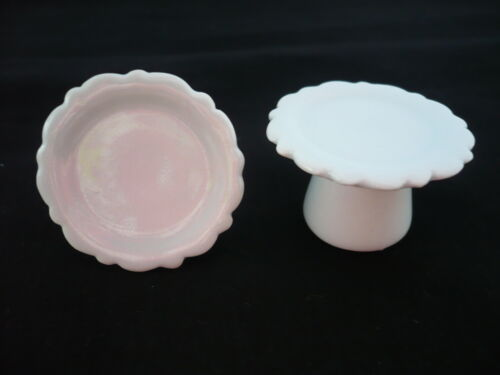 2x35 mm. White Cake Stand Dollhouse Miniatures Supply Cake and Bakery Deco