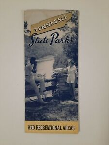 TENNESEE STATE PARKS 1940s Brochure TRAVEL tourism Vacation