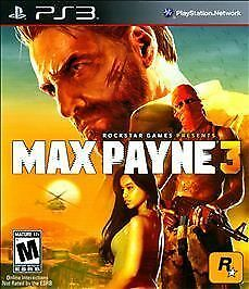 PS3 MAX PAYNE 3 BULLET TIME FAST ACTION SLOW MOTION SHOOTING NEW *FREE SHIPPING*