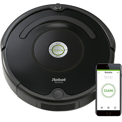 iRobot Roomba R675 R-675 Wi-Fi Connected Robotic Vacuum Cleaner