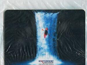 EXFORGE Drug Rep MOUSE PAD NEW Advertising Pharmaceutical-Kayak in Waterfall-NIP