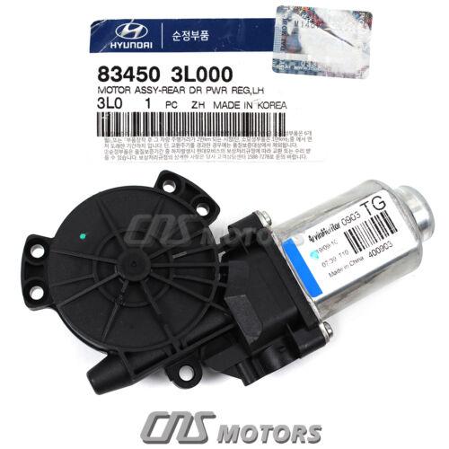 GENUINE Window Motor REAR DRIVER LH for 2006-2013 Hyundai Sonata 834503L000⭐⭐⭐⭐⭐