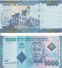 Tansania / Tanzania - 1000 Shilingi 2010 UNC - Pick 41