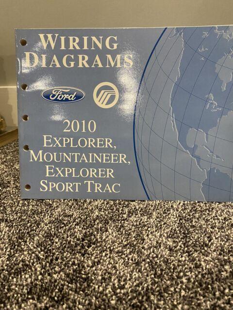 2010 Ford Explorer  Sport Trac  Mercury Mountaineer Wiring