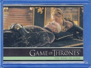 2016 Rittenhouse Game of Thrones Season 5  Card #1The Wars to Come