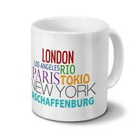 Städtetasse Aschaffenburg - Design famous Cities In The World