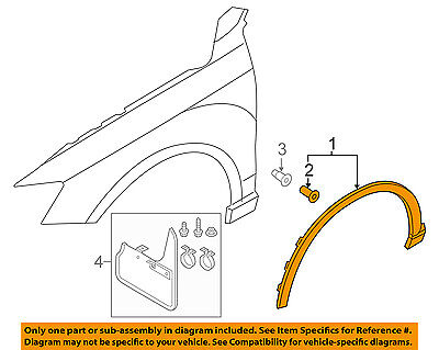 AUDI OEM EXTERIOR TRIM-FENDER-Wheel Opening Molding Right 8U0853718AGRU