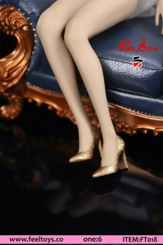"1//6 Scale Feeltoys FT018 Lady OL High Heels Shoes F 12/"" Female Figure Body"