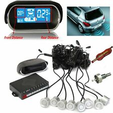 AUDEW Front and Rear Parking Reversing Sensor Kit Car Vehicle Reverse Backup 8