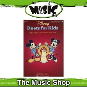 Details about New Disney Duets for Kids Music Book with OLA - Children's  Vocal Songbook