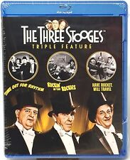 The Three Stooges ~ Triple Feature NEW SEALED Blu-Ray