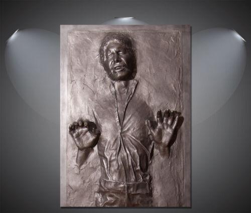 Han Solo Frozen Carbonite Star Wars Vintage Movie CANVAS Print A0 A1 A2 A3 A4