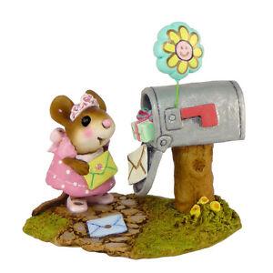 Wee-Forest-Folk-Miniature-Figurine-M-383-Best-Birthday-Ever