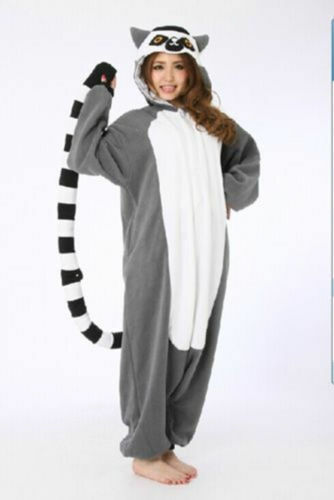 Women Adult Unisex Animal Pajamas Costume Cosplay Party Kigurumi Sleepwear Onex